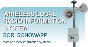 Wireless local radio information system